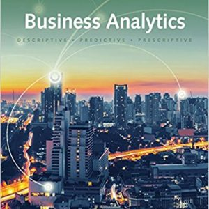 Test Bank for Business Analytics 3rd Edition Camm