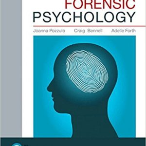 Solution Manual for Forensic Psychology