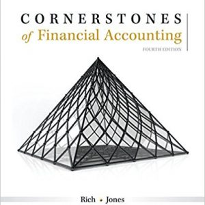 Solution manual for Cornerstones of Financial Accounting 4th Edition by Rich