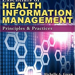 Test Bank for Essentials of Health Information Management