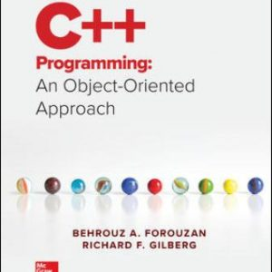Solution Manual for C++ Programming: An Object-Oriented Approach 1st Edition Forouzan