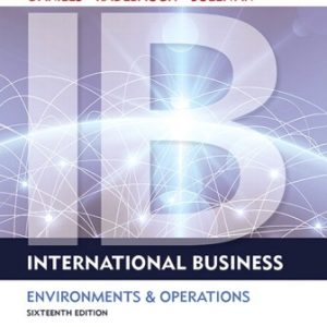 Solution Manual for International Business