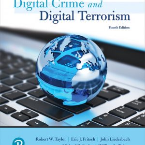 Test Bank for Cyber Crime and Cyber Terrorism