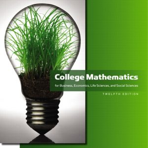 Test Bank for College Mathematics for Business