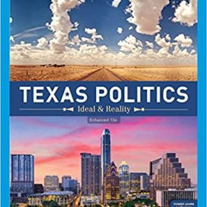 Test Bank for Texas Politics: Ideal and Reality, Enhanced 13th Edition Newell