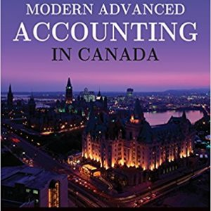 Solution Manual for Modern Advanced Accounting in Canada