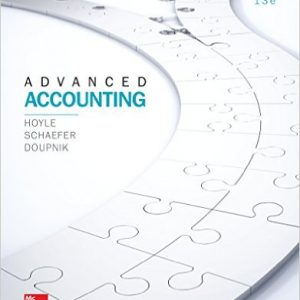 Test Bank for Advanced Accounting
