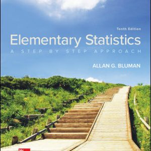 Test Bank for Elementary Statistics: A Step By Step Approach 10th Edition Bluman