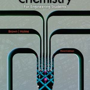 Test Bank for Chemistry for Engineering Students