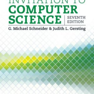 Solution manual for Invitation to Computer Science 7th Edition by Schneider
