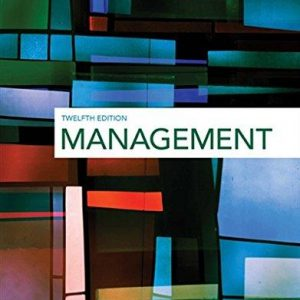 Solution manual for Management 12th Edition by Griffin