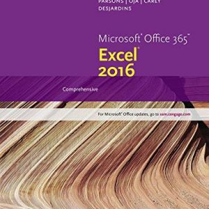 Solution Manual for New Perspectives Microsoft Office 365 & Excel 2016: Comprehensive