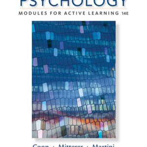 Solution Manual for Psychology: Modules for Active Learning