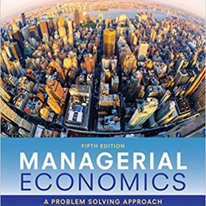 Solution Manual for Managerial Economics