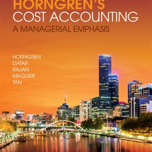 Solution Manual for Horngren's Cost Accounting: A Managerial Emphasis