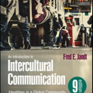 Test Bank for An Introduction to Intercultural Communication Identities in a Global Community 9th Edition Jandt