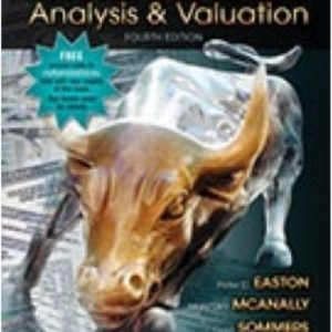 Test Bank for Financial Statement Analysis & Valuation 4th Edition Easton