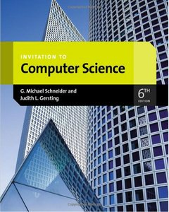 Solution manual for Invitation to Computer Science 6th Edition by Schneider