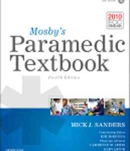 Test Bank for Mosbys Paramedic Textbook 4th Edition Sanders