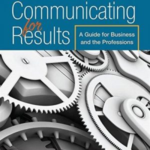 Solution Manual for Communicating for Results