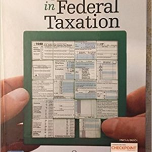 Solution manual for Concepts in Federal Taxation 2018 25th Edition by Murphy