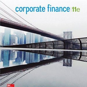 Solution Manual for Corporate Finance 11th Edition Ross