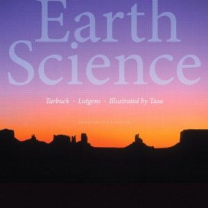 Solution manual for Earth Science 14th Edition by Tarbuck