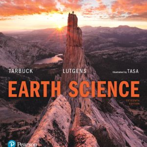 Solution manual for Earth Science 15th Edition by Tarbuck
