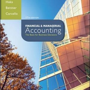 Solution manual for Financial & Managerial Accounting 17th Edition by Williams