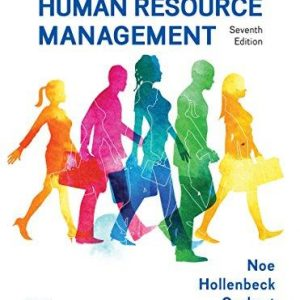 Solution manual for Fundamentals of Human Resource Management 7th Edition by Noe