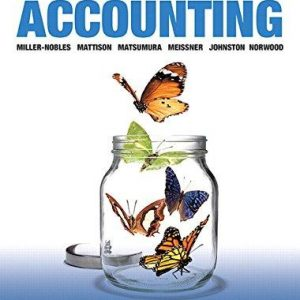 Solution manual for Horngren's Accounting Volume 2