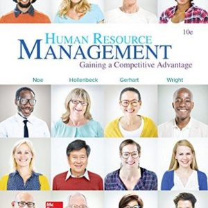 Solution manual for Human Resource Management 10th Edition by Noe