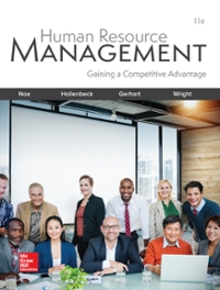 Solution manual for Human Resource Management 11th Edition by Noe