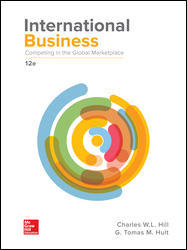 Solution Manual for International Business: Competing in the Global Marketplace