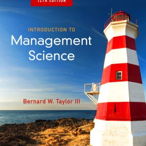 Solution manual for Introduction to Management Science 12th Edition by Taylor