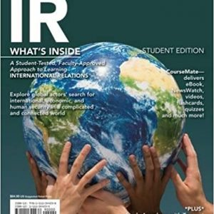 Solution manual for IR 2014 Edition 1st Edition by Scott