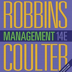 Solution Manual for Management 14th Edition Stephen P. Robbins