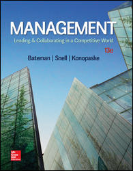 Solution manual for Management Leading & Collaborating in a Competitive World 13th Edition by Konopaske