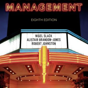 Solution manual for Operations Management 8th Edition by Slack