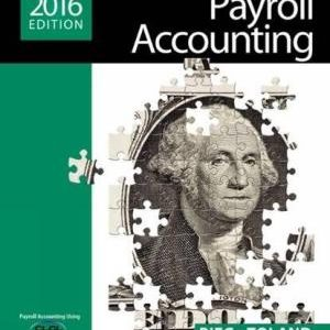 Solution manual for Payroll Accounting 2016 26th Edition by Beig