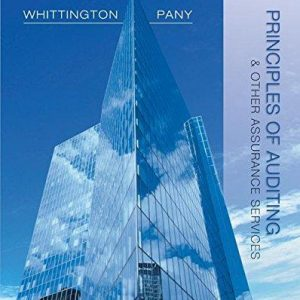 Solution manual for Principles of Auditing and Other Assurance Services 19th Edition by Whittington