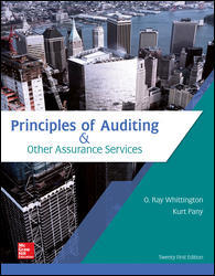 Solution manual for Principles of Auditing & Other Assurance Services 21st Edition by Whittington