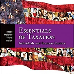 Solution manual for South-Western Federal Taxation 2017 Essentials of Taxation Individuals and Business Entities 20th Edition by Raabe