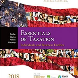 Solution manual for South-Western Federal Taxation 2018 Essentials of Taxation Individuals and Business Entities 21st Edition by Raabe