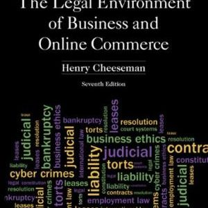 Solution manual for The Legal Environment of Business and Online Commerce 7th Edition by Cheeseman