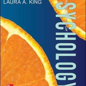 Solution manual for The Science of Psychology An Appreciative View 3rd Edition by King