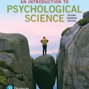 Test Bank for An Introduction to Psychological Science 2nd Canadian Edition Krause