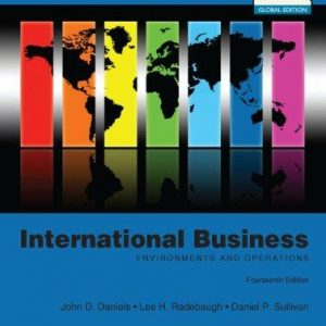 Test Bank for International Business Global Edition 14th Edition by Daniels