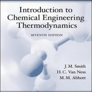 Solution Manual for Introduction to Chemical Engineering Thermodynamics 7th Edition by Smith