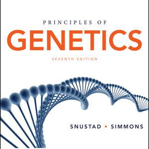 Solution Manual for Principles of Genetics 7th Edition Snustad